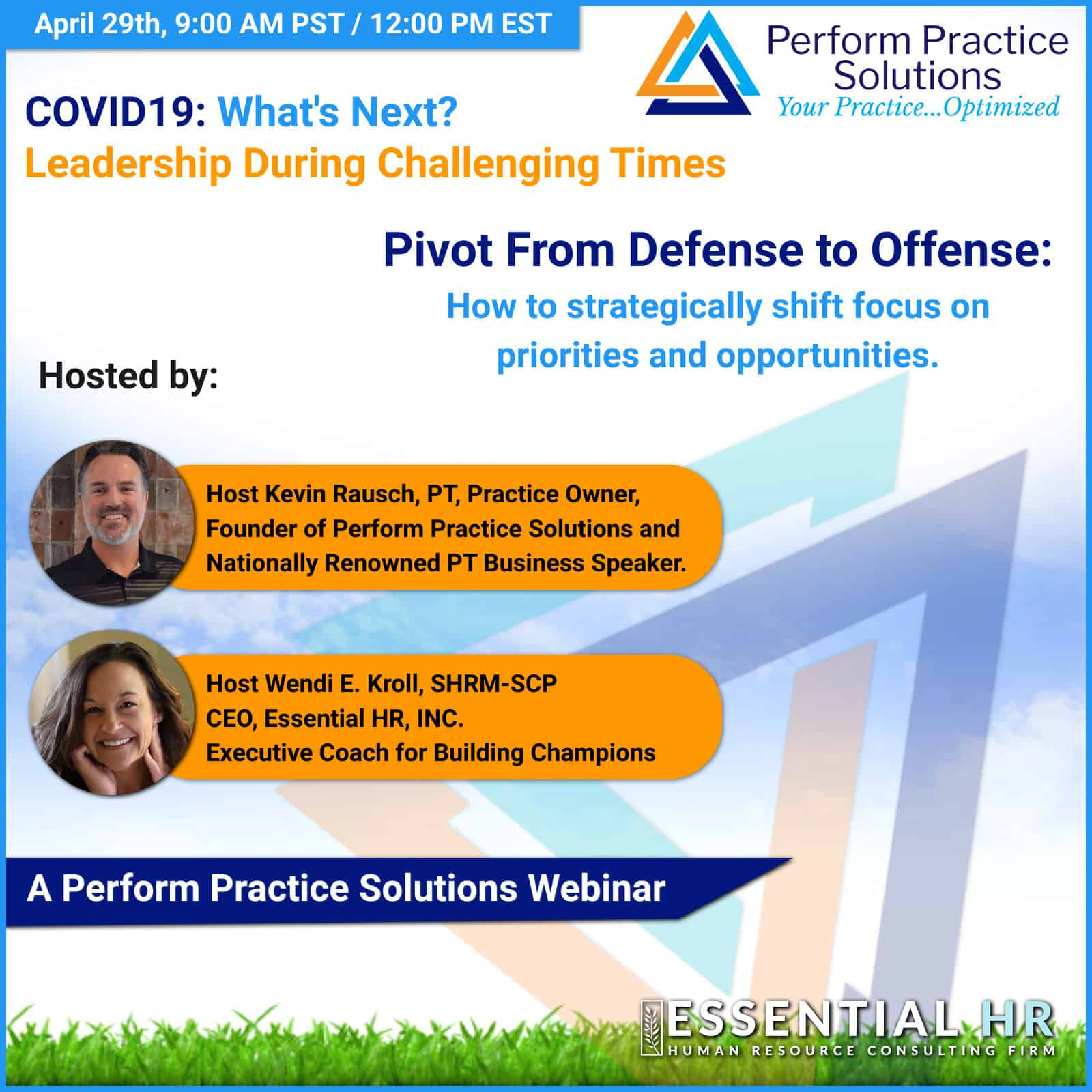Covid19: What's Next? Pivoting from Defense to Offense